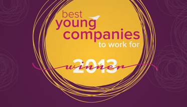 Sparkhouse Wins 2013 Best Young Company to Work For!