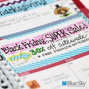 Blue Sky Black Friday Instagram