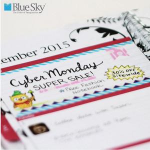 Blue Sky Cyber Monday Instagram