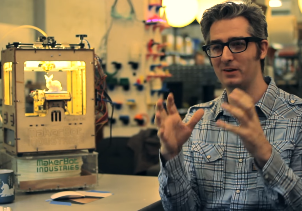 Makerbot Do-It-Yourself Entrepreneur Bre Pettis' Interview with Entrepreneur Magazine